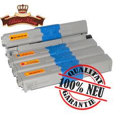 4 Toner-Kartusche XXL für Oki C301 DN C321 C321 DN MC332 DN MC342 PK-Serie