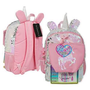 Each Or C//u Unicorn Small Back Pack $21