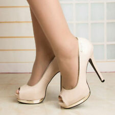 High (3 in. and Up) Bridal or Wedding Medium (B, M) Synthetic Heels for Women