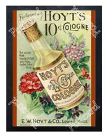 Historic Hoyt'S German Cologne Advertising Postcard 2