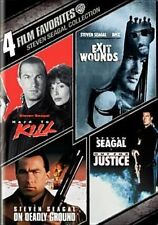 4 Film Favorites Steven Seagal Action DVD Region 1 US IMPORT NTSC
