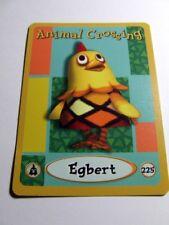 ANIMAL CROSSING E-READER Character CARD 225 Egbert~Series 4~FINE~Trading~Eggbert