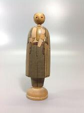 Vintage Hand Made & Decorated Tasmanian Wood Deepings Doll 2