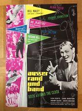 Außer Rand und Band - Rock around the Clock (Kinoplakat '56) - Bill Haley