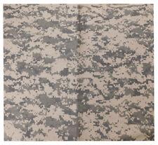 "Wholesale Lot of 3 ACU Digital Camouflage Camo 22""x22"" 100% Cotton Bandanna"