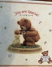 "Gund "" You Are Special "" Bear and Duck Figure Nib "" Thinking of You """
