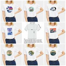 Women Harajuku Japanese Ukiyoe Print T-shirt Tee Top Short Sleeve Tops Casual