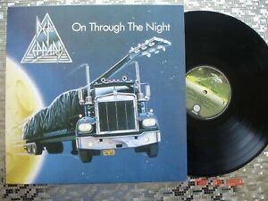 Def Leppard  ~ On Through The Night ~  GERMAN IMPORT 180 GRAM LP   UMC 0800722