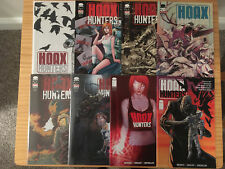 HOAX HUNTERS COMPLETE SERIES # 0-13 + CASE FILES IMAGE COMICS MORECI SEELEY