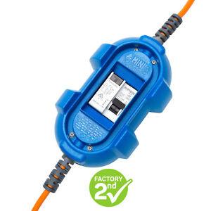 Ampfibian MINI (blue) 10Amp-15Amp RCD Power Adaptor FACTORY SECOND