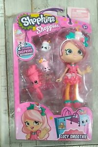Shopkins Shoppies Doll- Lucy Smoothie With 2 Exclusive Shopkins & Accessories Se