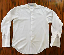 Ragazzi tunica shirt Vintage Public School Uniform Billings Edmonds Eton 15 C 1980s