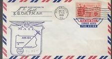 1961 FFC Pilot Autographed Cover AM94 Pittsburgh Pa  94-146