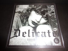 "Taylor Swift ""Delicate"" 2018 PROMO CD SINGLE Universal Music Brazil BIG MACHINE"