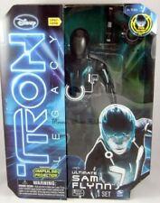 "New Disney Light-Up Talking Ultimate TRON Deluxe Sam Flynn Action Figure 12"""