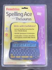 Franklin Spelling Ace Plus (Sa-206) With Thesaurus - Factory Sealed