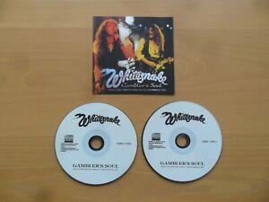 Whitesnake 2CD - Gambler`s Soul (Japan)