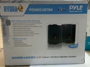 ✅ Pyle PDWR52BTBK Wall Mount Waterproof Bluetooth Speakers 5.25'' Indoor/Outdoor