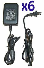 SIX! 9VDC/9Volt 0.1-2.7A Switching Power Supply/Adapter,5.5/2.5mm Plug!FREE SHIP