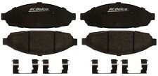 Disc Brake Pad Set-Police Semi-Metallic Disc Brake Pad Front ACDelco Specialty
