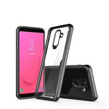 Shockproof Silicone Bumper Case For Samsung Galaxy J8 2018 Slim Acrylic Cover