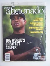 Cigar Aficionado Magazine May/June 2008 Tiger Woods Cover New Sealed