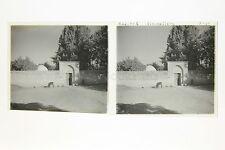 Baalbek Héliopolis Liban Lebanon Stéréo sur film souple Vintage