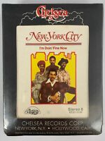 NOS New York City I'm Doin' Fine Now 8 Track Stereo Tape Chelsea Records SEALED