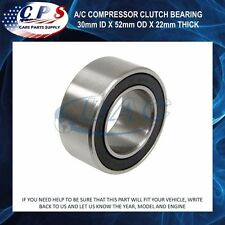 A/C AC Compressor Clutch Bearing 30mm ID x 52mm OD x 22mm Thick BG603