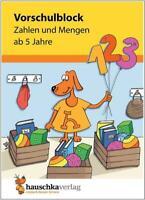 NEU: Übungsblock für Kinder ab 5 Jahren - Zahlen und Mengen