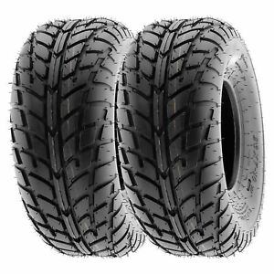 SunF 145/70-6 ATV UTV Tire 145/70x6 Sport Tubeless 6 PR A021  [Set of 2]