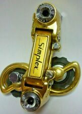 DERAILLEUR SIMPLEX SLJ GOLD REAR DERAILLEUR *VGC*