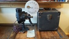 1920'S ANTIQUE / VINTAGE BELL & HOWELL FILMO 57 16MM CINE MOVIE PROJECTOR & CASE