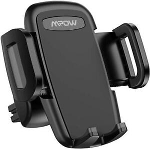 Mpow CA086B Car Phone Mount for Air Vent, 360 Rotate 3-Level Adjustable 4.7-6.8""
