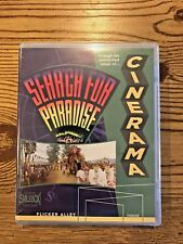 CINERAMA SEARCH FOR PARADISE BLU-RAY DVD COMBO NEW IN PLASTIC