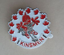 Canadian Kinsmen Club Lapel Souvenir Hat Pin