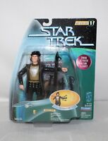 "1997 STAR TREK Warp Factor Series 1 ""Q"" Galactic Gear Action Figure IOB"