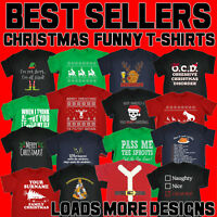 Christmas T-Shirts funny novelty t shirts joke tee jumper mens xmas clothing top
