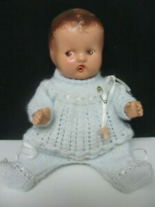 Vintage Baby Wettums Composition Doll