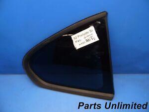92-96 Honda Prelude OEM Right passenger side corner window glass *