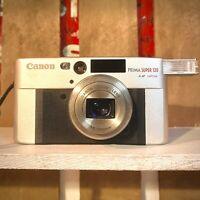 SUPERB CANON SURE SHOT CLASSIC 120 35mm FILM CAMERA, Film Tested! Working Lomo