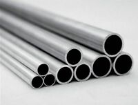 Select OD 4mm - 8mm 6061 Aluminum Round Tubing Length 100mm - 600mm [M_M_S]