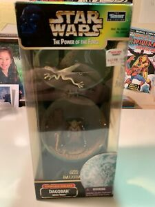 Star Wars POTF * Dagobah with Yoda * Complete Galaxy * 1998 * Sealed