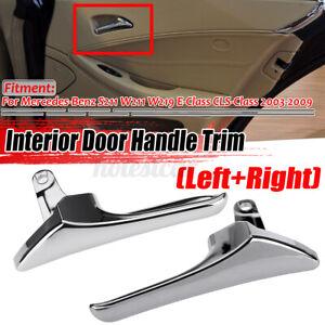 Front Left Right Interior Door Pull Handle For Mercedes W211 E320 E350 E500 AMG