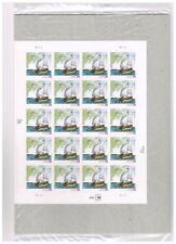 MINT Samuel de Champlain 20 stamp Pane + Block 39c Sealed Packages MNH FV$9.55