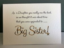 PREGNANCY ANNOUNCEMENT/ REVEAL card | Free envelope| Family variations Limelight