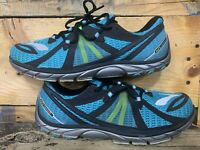 Brooks Pure Connect Size  women's 12 Men's 10 44.5 US Teal Lime Shoes Running