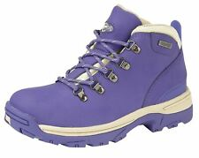 Ladies Womens Ankle Boots Lace Up Waterproof Leather Hiking Walking Trail Shoes
