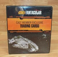 Star Wars Fantacular Cast Member Exclusive Trading Cards in Collectible Binder