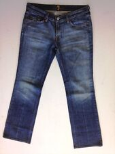 7 for all mankind Style Jeans Hose Dunkelblau Stonewashed W31 L32